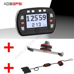 Alfano DSGPSI + SOPORTES DE MONTAJE + Cable de alimentación de 12V