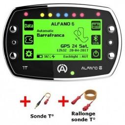 ALFANO 6 1T + rallonge A-3301 + sonde température eau A-2101 (Pack 1)