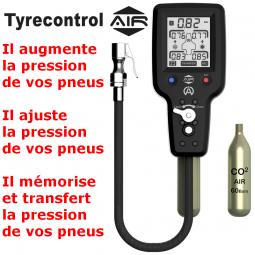 Presión de los neumáticos y de control de temperatura