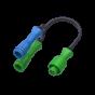 Adaptateur Y pour 2 capteurs (MAG et VITESSE) A-2194