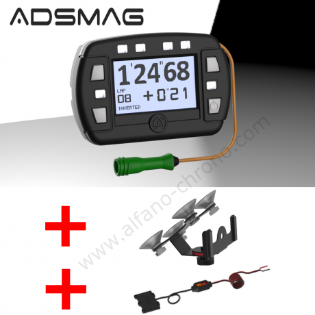 Alfano ADS MAG(nétique) AUTO + support A-5001 + alimentation 12 V A-4002